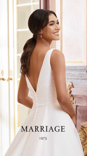 Marriage Bride Collection 2022 Isabella back