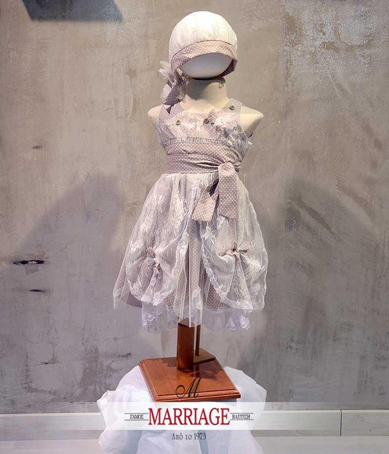 Marriage οίκος βάπτισης που εκθέτει καταξιωμένες εταιρείες με βαπτιστικά ρούχα
